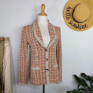 ⬇️$65 Pendleton Tweed Blazer Cardigan Sweater